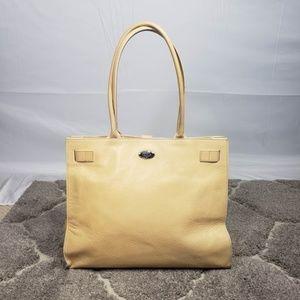 Furla Greta Pebble Leather Tote Large Shopper